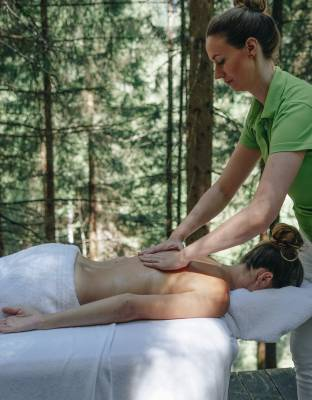 Massage at the Forest Spa