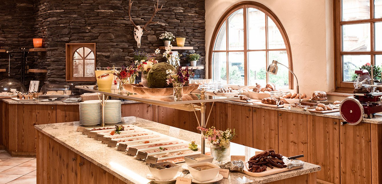 Best breakfast buffet in the Salzburger Land region.