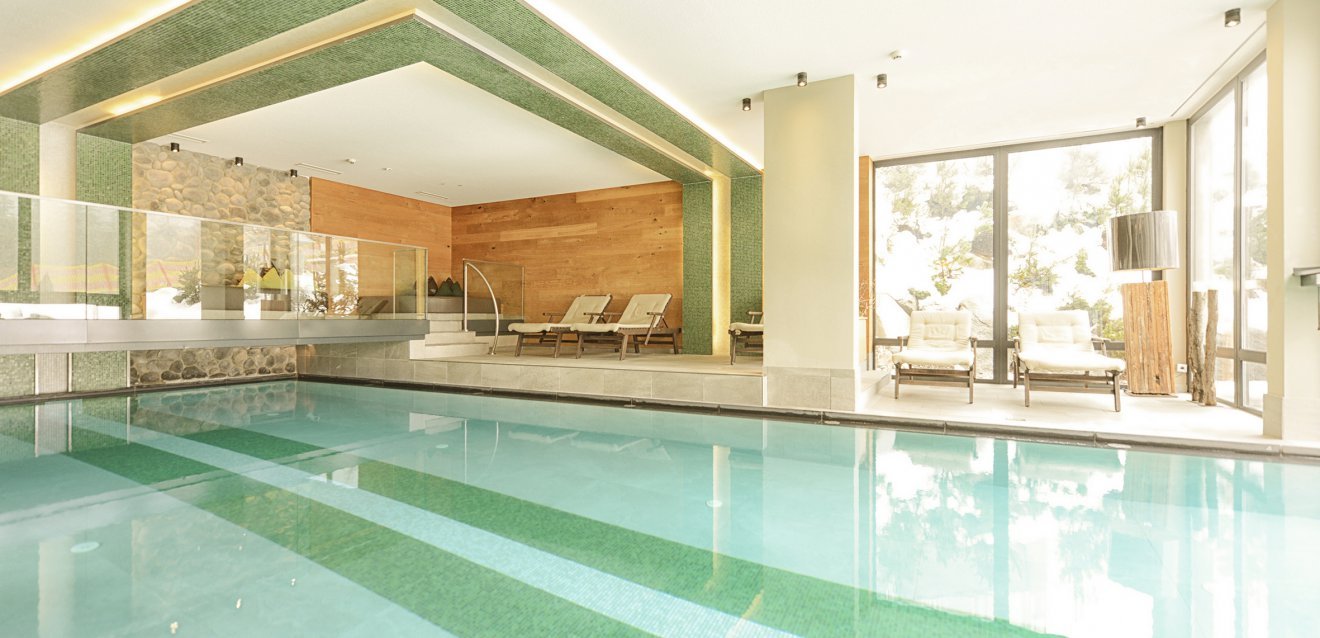 Indoor pool.